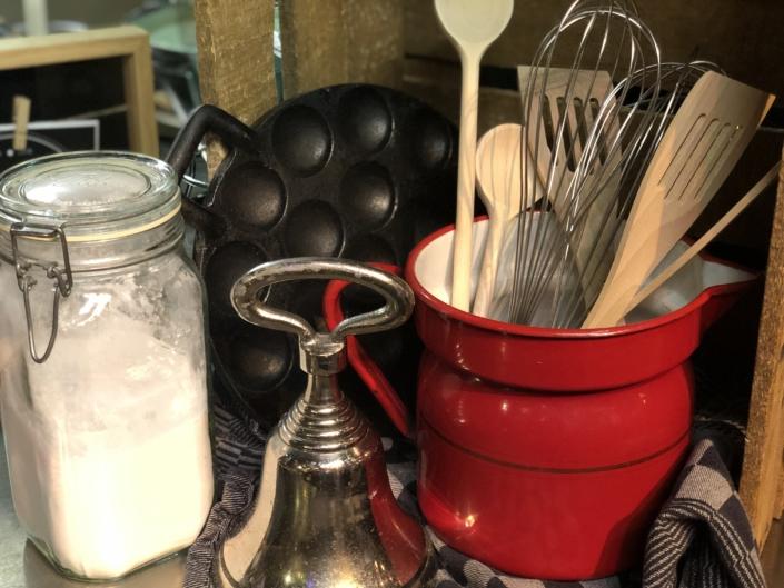 kookgerei voor poffertjes